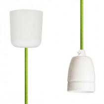 Pendant Lamp Porcelain Light Green