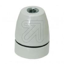 Porcelain Lamp Holder E27 Glazed (patterned)