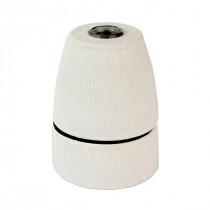 Porcelain Lamp Holder E27 Matte