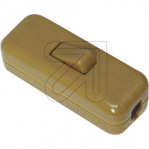 Inline Cord Switch Gold
