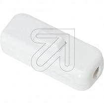 Inline Cord Switch White