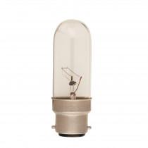 Tubular Bulb Clear B22 40W
