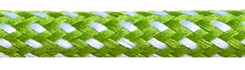 Textile Cable Green-White Spots