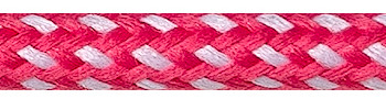 Textile Cable Pink-White Spots