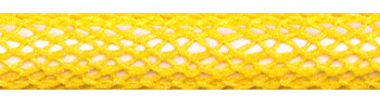Textile Cable Yellow Netlike Textile Covering