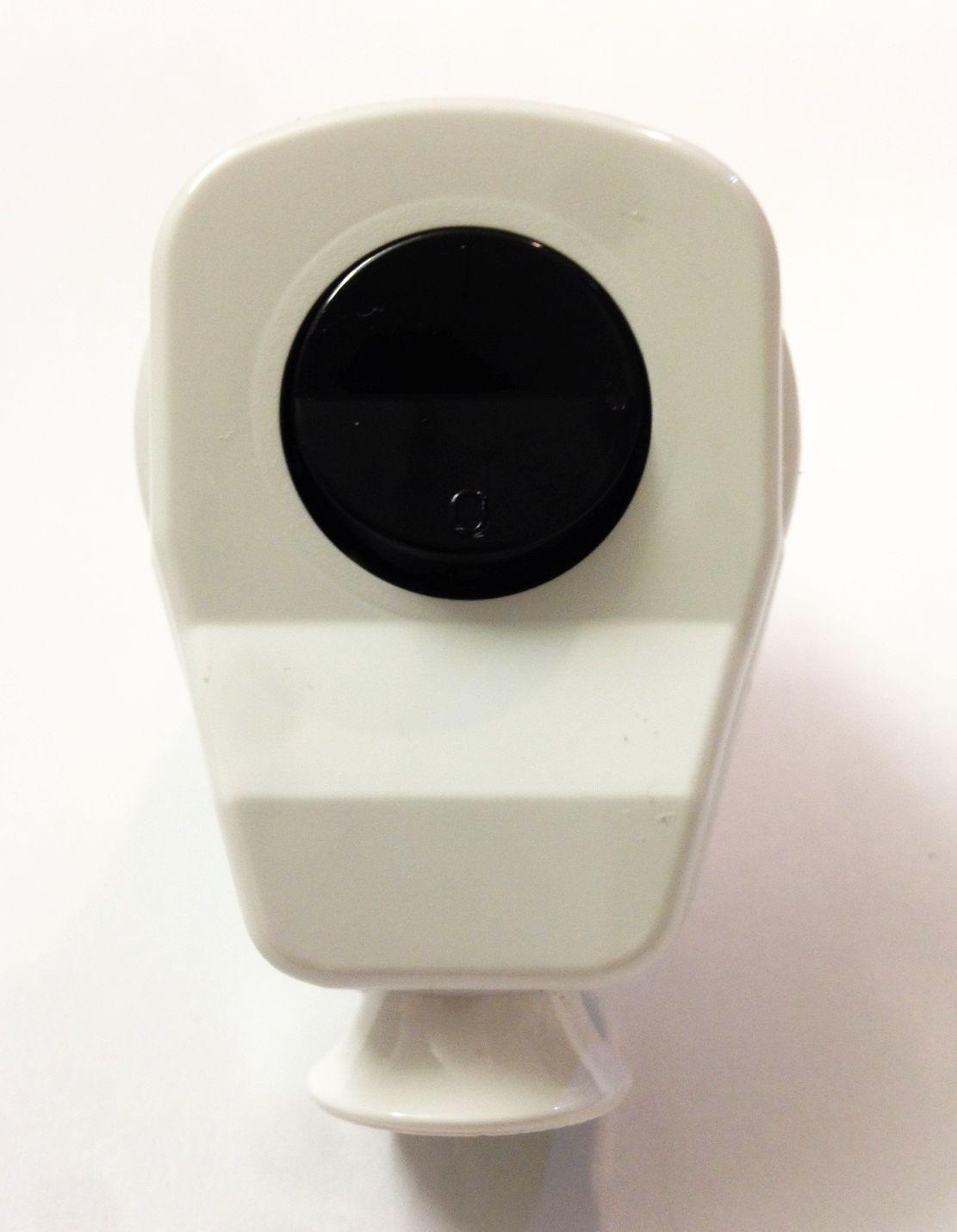 Schuko Winkelstecker mit Schalter Weiß/Weiß/Schwarz