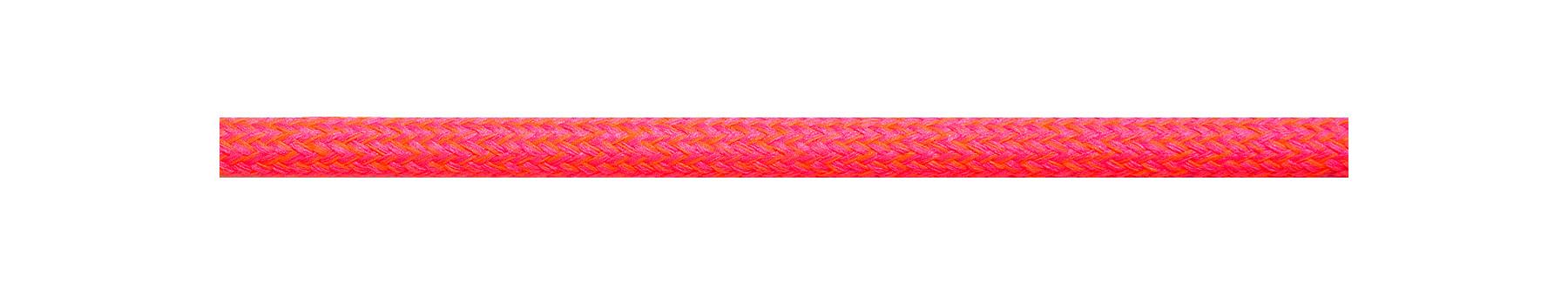 Textilkabel Neonpink-Orange