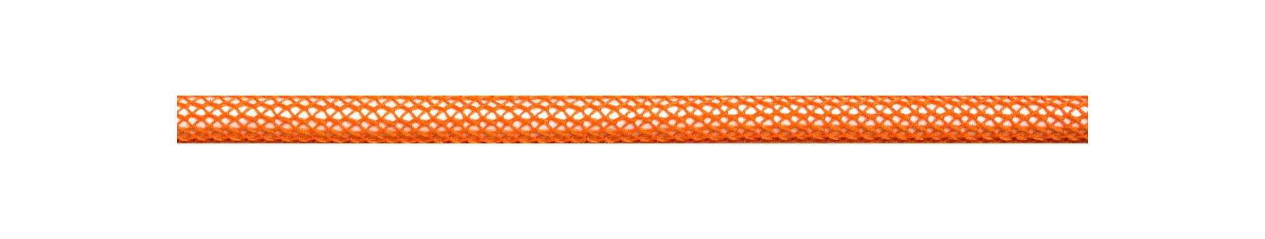 Textilkabel Orange Netzartiger Textilmantel