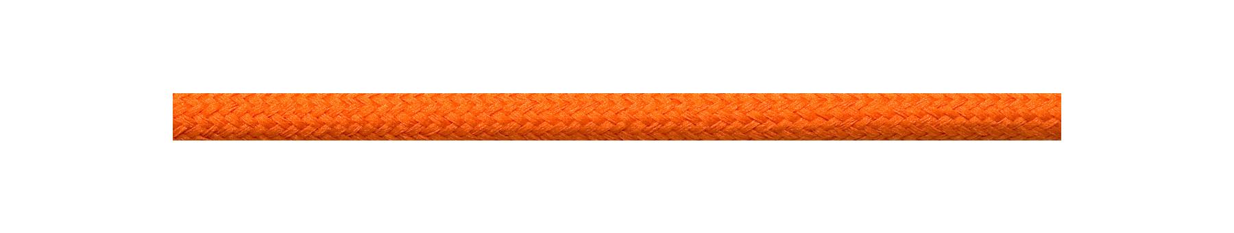 Textilkabel Orange