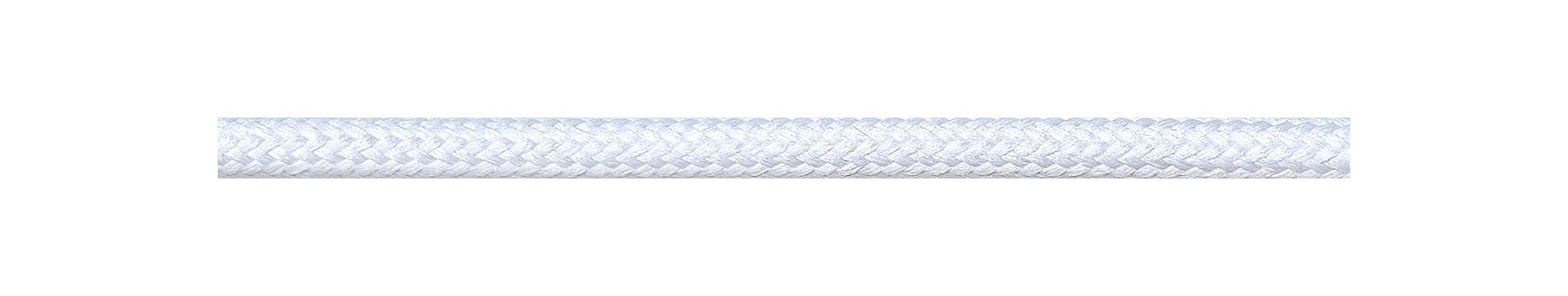 Textilkabel Weiß