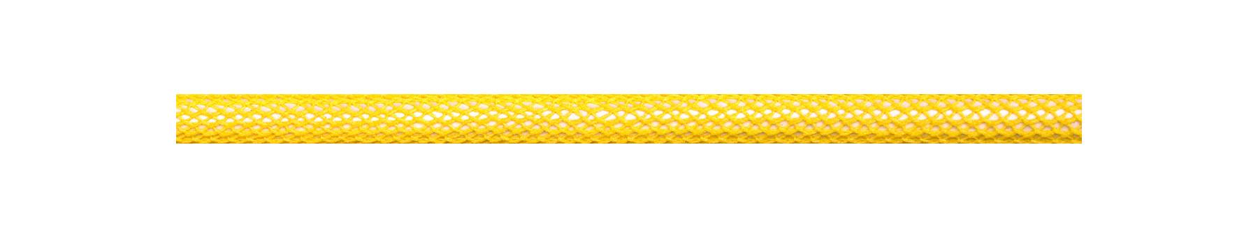 Textilkabel Gelb Netzartiger Textilmantel