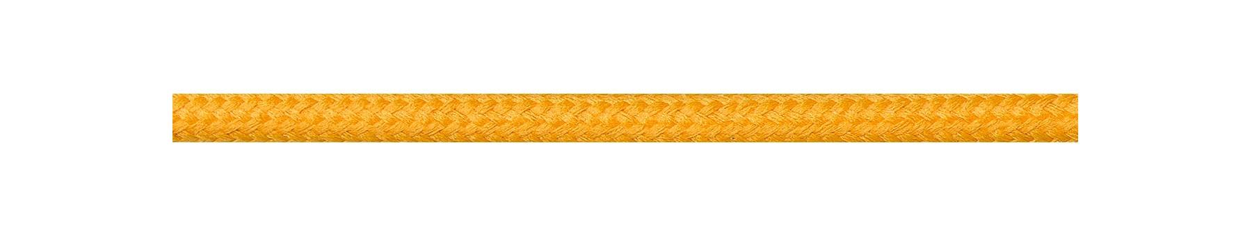 Textilkabel Sonnengelb