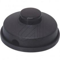 Fußtret-Schalter schwarz
