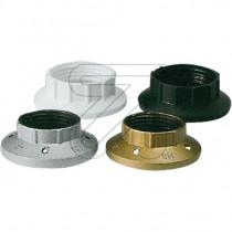 Kunststoff Schraubring E14 schwarz weiß gold silber