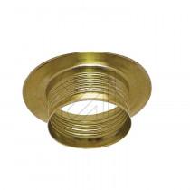 Metall Schraubring E27 gold