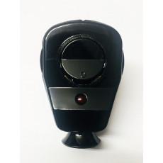 Schuko Winkelstecker mit Schalter und Diode schwarz