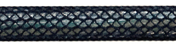 Textilkabel Schwarz Netzartiger Textilmantel