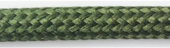 Textilkabel Gartengrün