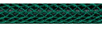 Textilkabel Grün Netzartiger Textilmantel