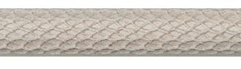 Textilkabel Matt-Weiß Netzartiger Textilmantel