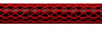 Textilkabel Rot Netzartiger Textilmantel