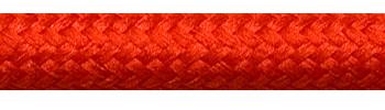 Textilkabel Rostrot
